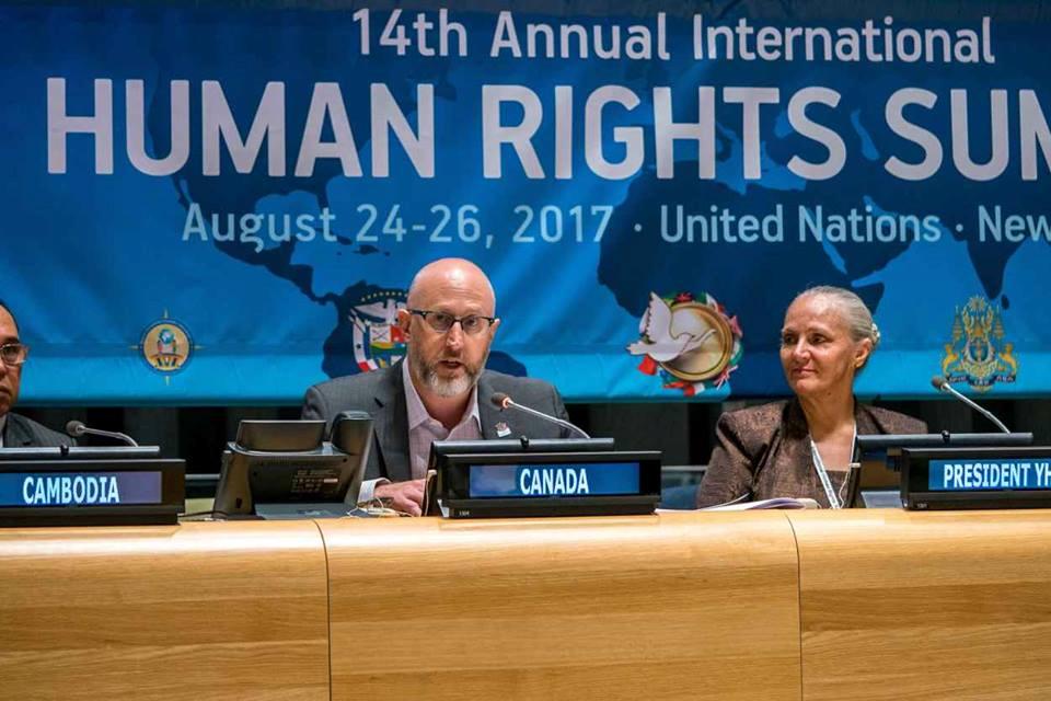 Emberi Jogi Csúcstalálkozó az ENSZ-ben